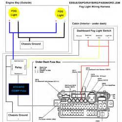 piaa fog light relay wiring diagram piaa wiring diagram free