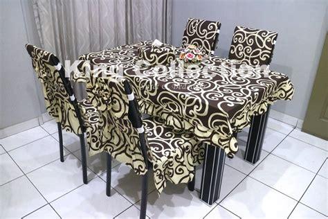 Cover Kursi 1 jual beli set sarung kursi makan taplak meja ctc