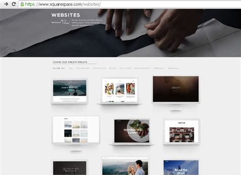 www squarespace templates squarespace pricing templates review sitesmatrix