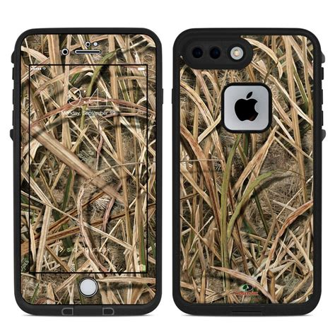 lifeproof iphone   fre case skin shadow grass blades  mossy oak decalgirl