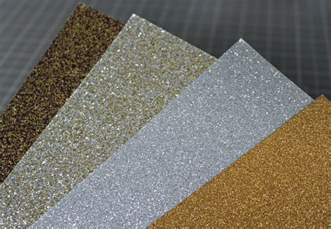 types of glitter for card other crafts