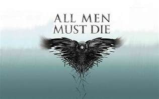 Game Of Thrones Season All Men Must Die Wallpaper
