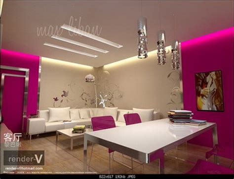 pink interior design garden and home some exles of living room interior
