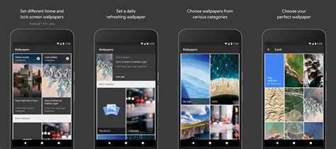 google wallpaper shop pixel launcher and google wallpapers apps hit the play store