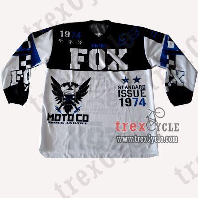 Kaos Baju Fox 5 trexcycle indonesia toko aksesoris sepeda