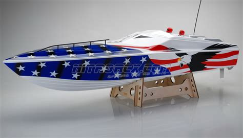 rc speed boat design exceed racing fiberglass eagle 26cc gas powered artr
