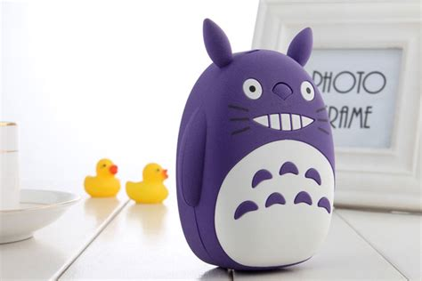 Totoro 12000mah Usb Mobile Charger Power Bank totoro 12000mah portable powerbank for iphone samsung xiaomi oppo huawei 11street malaysia