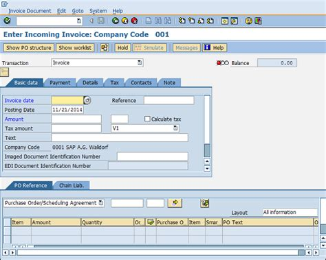 basic invoice verification procedure in sap mm sap mm invoice verification