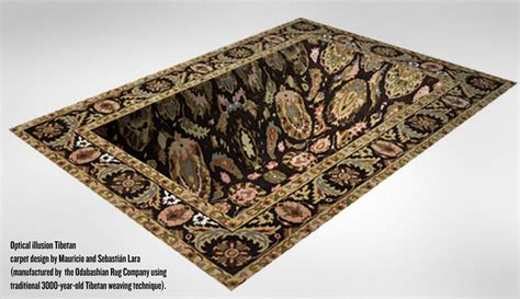 Optical Illusion Rugs For Sale by Optical Illusion Rug Design Puts The Quot Quot In Carpet