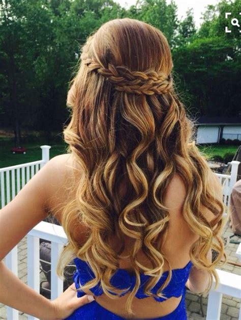 graduation hairstyles for middle school grade 8 grad hair pinteres