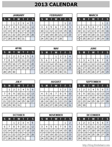 printable yearly calendars 2013 year calendar 2013 printable 187 calendar template 2018