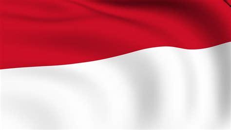 wallpaper bendera merah putih berkibar  wallpaper