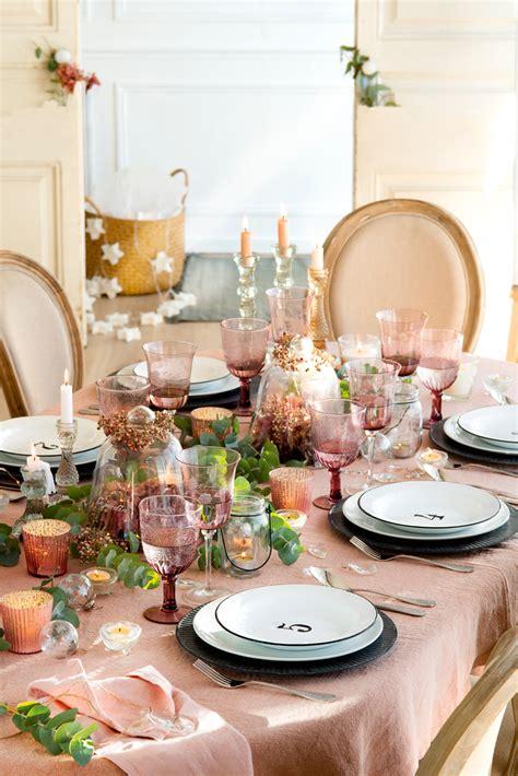 decorar mesa navidad para cena mesas decoradas para celebrar la navidad