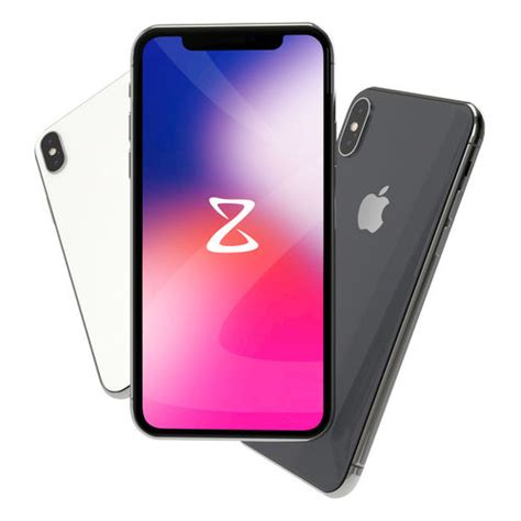 3d apple iphone x mobile cgtrader