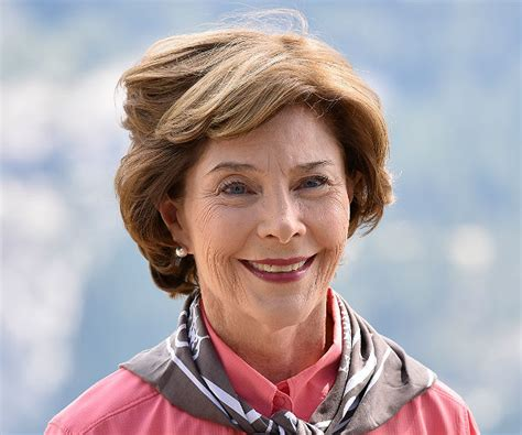 laura bush laura bush on backing trump don t ask that newsmax com