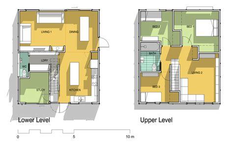 cube house design layout plan the cube house drent design