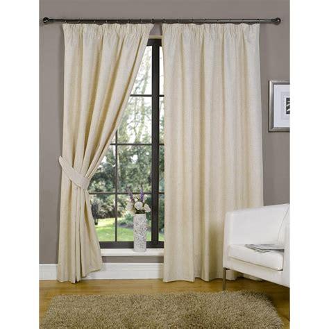 sale ready made curtains java plain natural linen blend ready made curtains closs