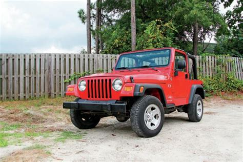What Is A Tj Jeep Tips For Buying A 1997 2006 Jeep Wrangler Tj Trader