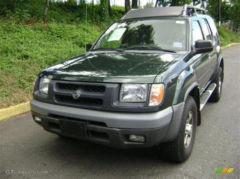 2001 alpine green metallic nissan xterra se v6 31585239 photo 5 gtcarlot car color
