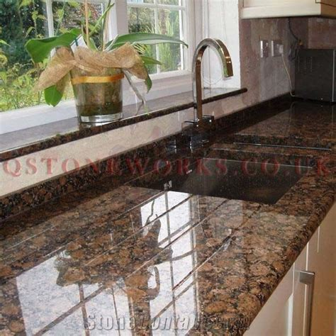 How To Install A Backsplash In A Kitchen baltic brown granite worktop pinteres