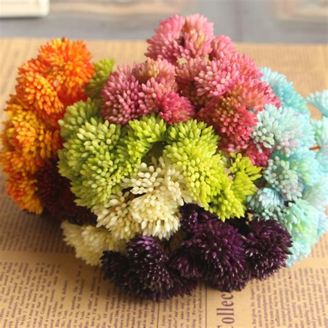 2016 New 21pcs Artificial Decorative Flowers Compare Prices On Thanksgiving Flower Arrangement Shopping Buy Low Price Thanksgiving