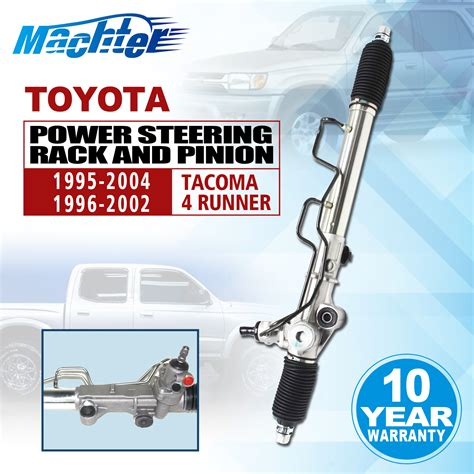How To Remove Rack And Pinion by Toyota Tacoma 2wd 4wd Complete Power Steering Rack And