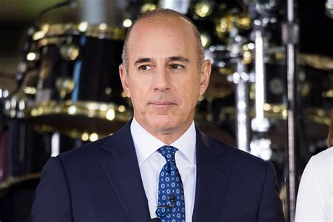 Mat Today by Matt Lauer Responds To Sexual Harassment Allegations Quot I
