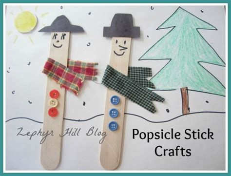 really easy crafts two easy popsicle stick crafts zephyr hill