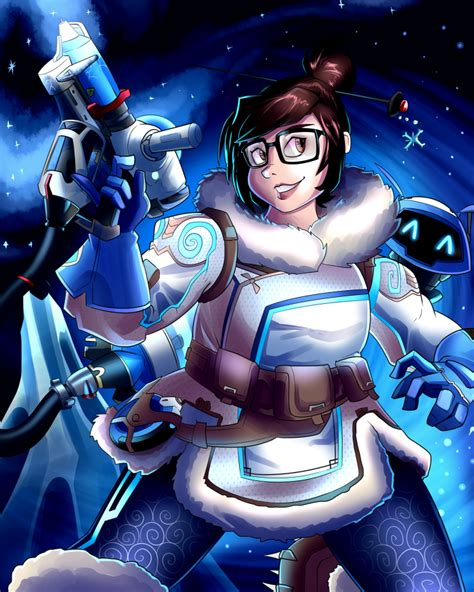 Poster Overwatch 08 overwatch poster mei by andrewmartind on deviantart