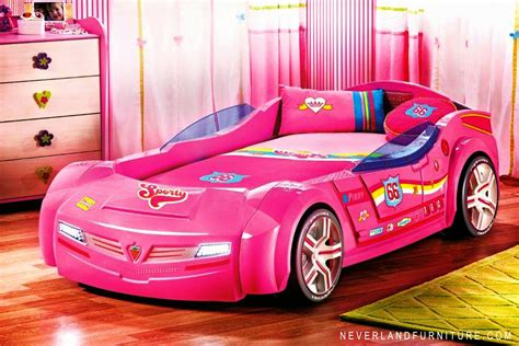 car beds for girls office chair on sale in canada turbo series pink pacer