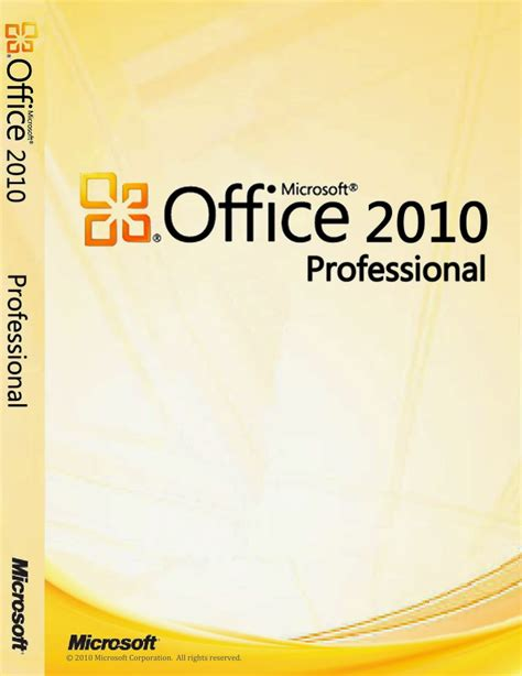 Microsoft Office Professional 2010 by Microsoft Office Professional Plus 2010 X86 X64