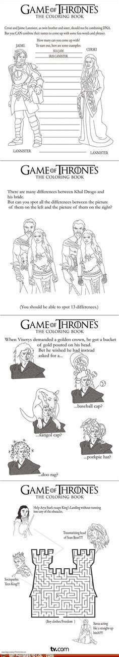 thrones colouring book ideas 1000 images about of thrones on of
