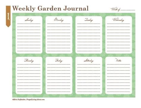 printable garden journal printable garden journal garden love pinterest