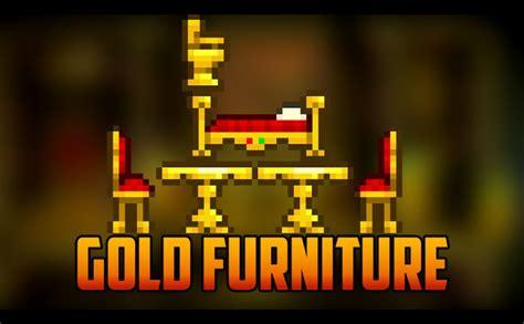 Terraria Furniture by Terraria New Gold Furniture From Pirate