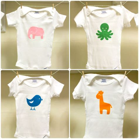 30 d i y baby onesies for your silhouette the thinking closet