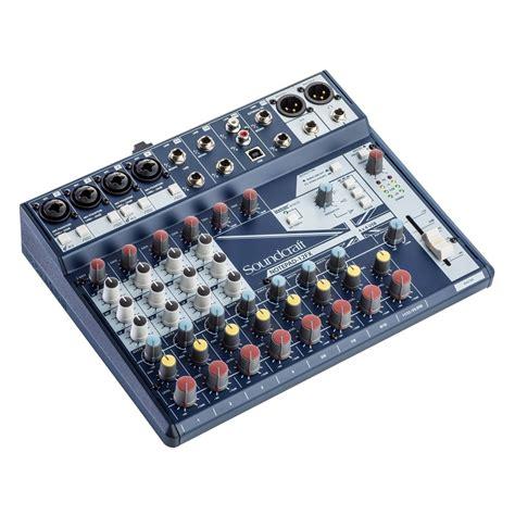 Mixer Fx Usb soundcraft notepad 12 fx analog usb mixer at gear4music