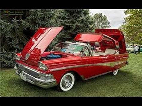1958 ford fairlane 500 sunliner (retractable) youtube