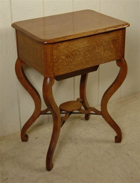 Coe Furniture by Oak Sewing Stand