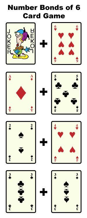 printable number bond cards number bonds to 6 free math worksheets