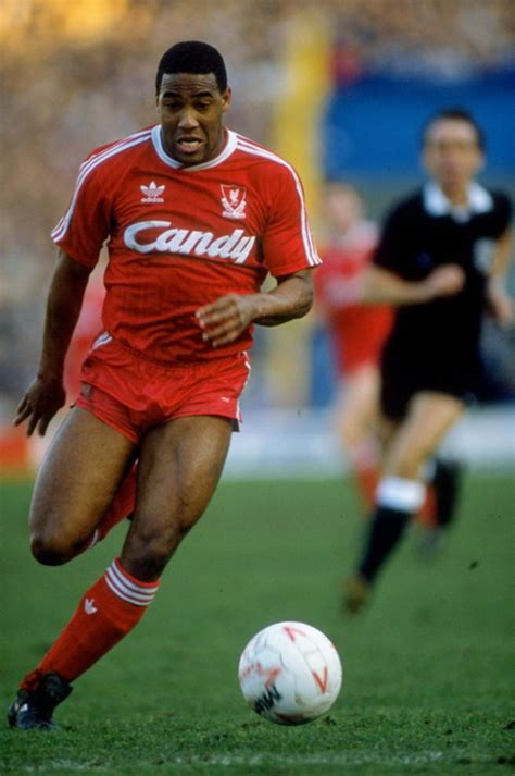 Footballer Barnes 25 years ago barnes signs liverpool fc