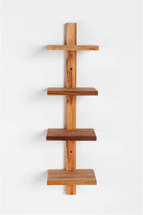 Spine Wall Shelf by Teak Spine Wall Shelf Small Wishlist
