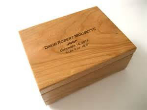 engraved keepsake box wood box keepsake box custom engraved wood box by highpointgifts