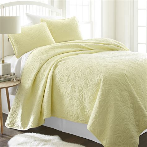 damask coverlet damask quilted coverlet set 3pc ienjoy home
