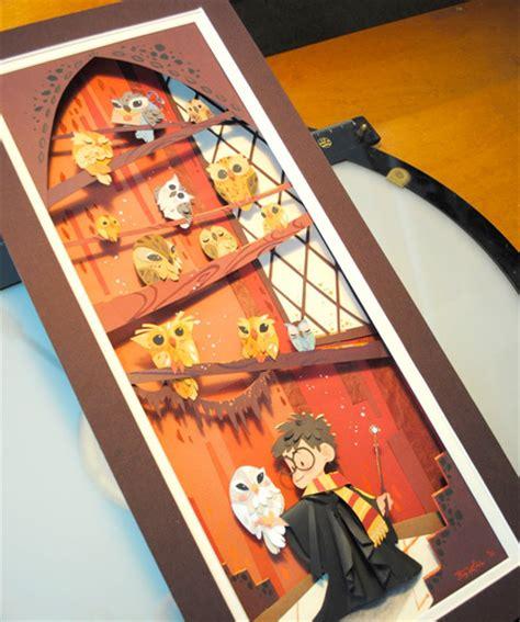 Harry Potter Paper Art
