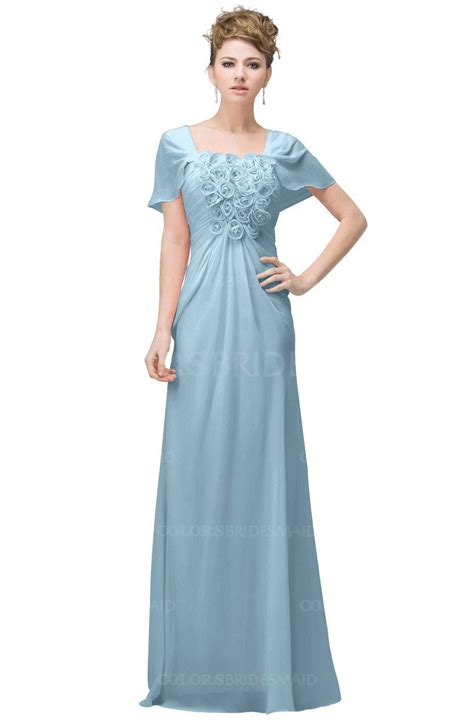 Dress Naqila Square Size 10 12 Thaluna Plus Jilbab Blue Casual A Line Square Sleeve Floor Length