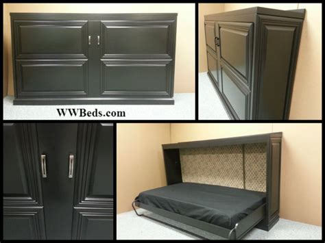horizontal urban murphy bed horizontal murphy bed horizontal mitered doors custom by chris