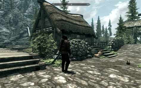 skyrim how to buy a house in riverwood riverwood shack a player house at skyrim nexus mods and community