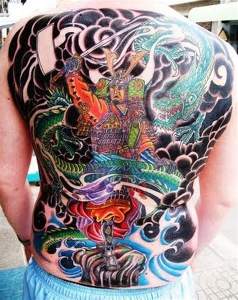 full back dragon tattoo designs samurai designs www pixshark images