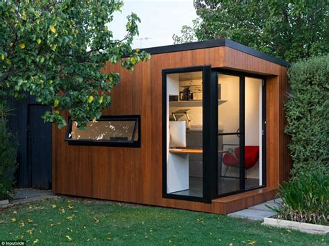 building a backyard office houzz australia s homes with the best interior design