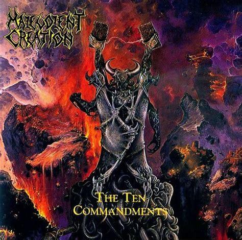 Cd Malevolent Creation The Ten malevolent creation the ten commandements